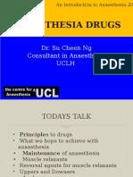 Intro Anesthesia 2016 Drugs