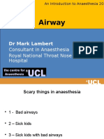 Intro Anesthesia 2016 Airway