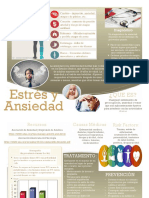stress and anxiety management brochure - spanish version