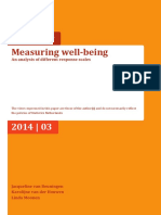 Measuring Well Being