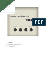 Samplephonics 909 Manual