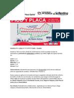 Pico y Placa Quito