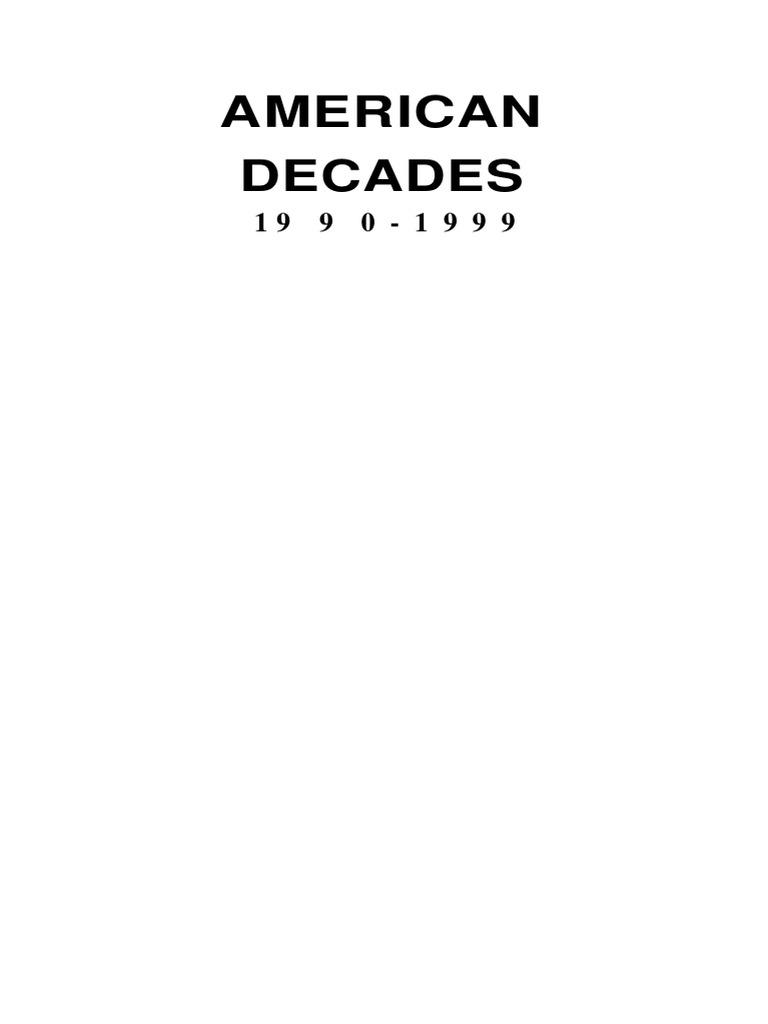 e6ef73738c DECADAS AMERICA 1990-1999.pdf | Mikhail Gorbachev | Unita