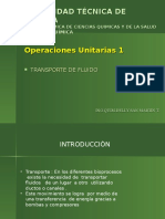 Unidad # 1 Operaciones Unitarias