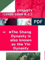 2q.6 Shang Dynasty