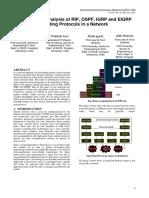 Analisis Kinerja Routing Protokol Di Jaringan Dari RIP, OSPF, IGRP Dan EIGRP