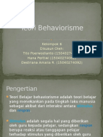 PPT Teori Behaviorisme