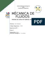 Mécanica de Fluidos
