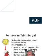 Sediaan Tabir Surya