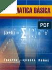 Mátematica Básica, 2da Edición - Eduardo Espinoza Ramos