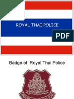 Royal Thai Police Cps