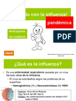 Datos de la Pandemia de la Influenza
