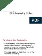 Stiochiometry