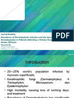 [Slide] Prevalence of Dermatophytic Infection