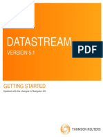 Datastream 5.1 User Guide