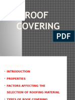 Roof Covering