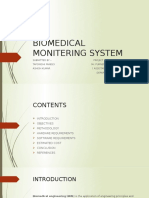 Biomedical Monitering System