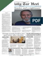 The Daily Tar Heel for Nov. 16, 2016