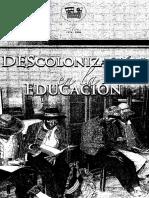 Descolonizacion en La Educacion