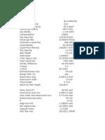 Demathanizer Calculation