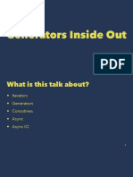 Generators Inside Out
