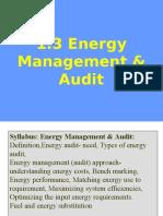 1.3 Energy Management & AuditN