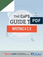 CV Writing Guide
