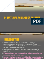 1.4 Material and Energy BalanceN