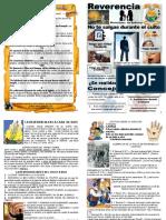 reverencia folleto