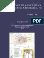 Materi IBO BSM n Biotek 2013