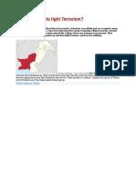 Pakistan How to Fight Terrorism
