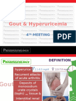 Pharmacotherapy 4 Gout1