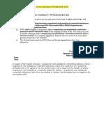 Declaration document