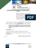 Solicito Copias Certificadas de Pericia a La Fiscalia de Coronel Portillo Caso Vilca