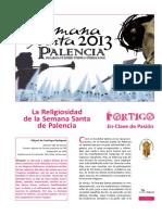 La Religiosidad de La Semana Santa de Palencia (1)