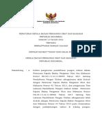 PKBPOM No 12 Tahun 2016 Tentang Pendaftaran Pangan Olahan(1)