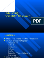 Publishing Research