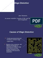 Wage Distortion