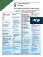 UCU Program List