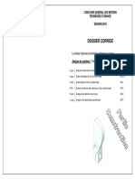 Dossier Corrigé CGTU 2010