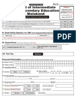 Bise Mkd Form