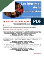 HORA SANTA CON EL PAPA. Las Lágrimas de La Conversión (16)