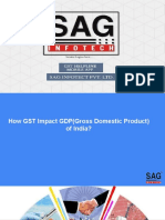 GST Impact GDP(Gross Domestic Product) of India