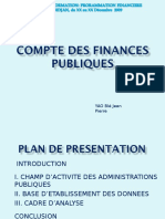Programmation Financiere_compte Du Secteur Publique