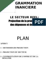 Projection Du Secteur Réel