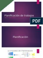 Planificación de Trabajos
