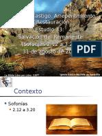 33 Salvacion Del Remanente