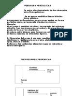2.0 Propiedades Periodicas