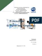 E-recruitmet y Portal del Empleado