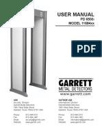 Garrett PD6500i Manual